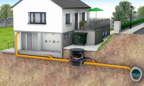 Évacuation eaux usées et eaux vannes