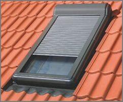 fenêtre de toit fixe